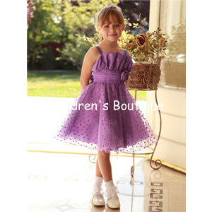 Heart Tulle Girls Party Dress