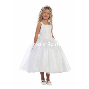Corset Flower Girl Dress