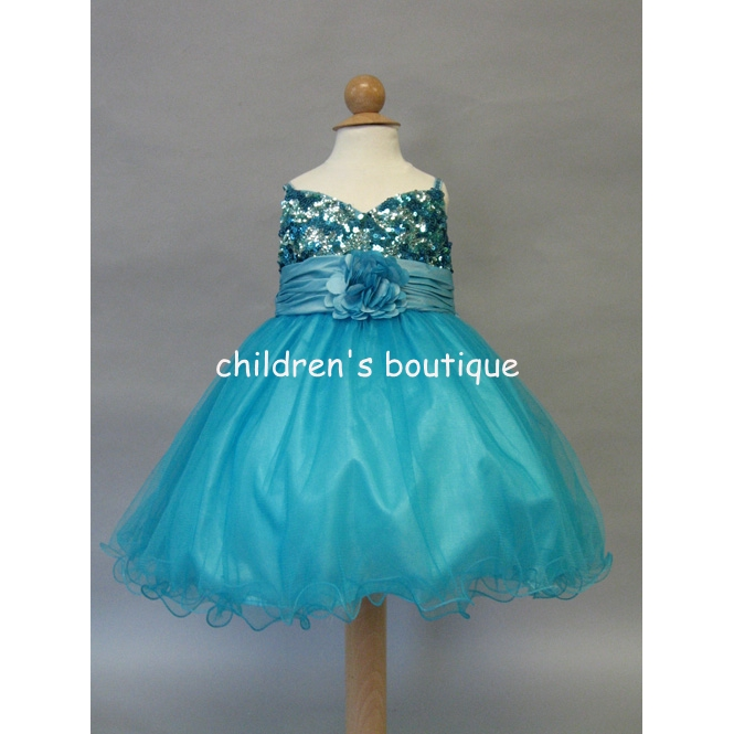 """Katiana"" Sequin Infant Formal Dress"