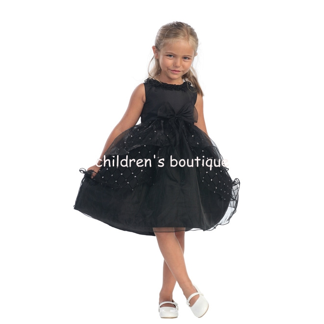 """Bridget"" Tulip Skirt Flower Girl Dress"