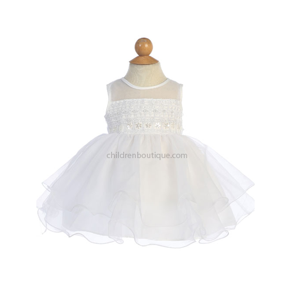 Layered Organza Baby Party Dress