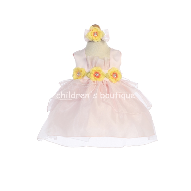 Organza Tulip Infant Party Dress
