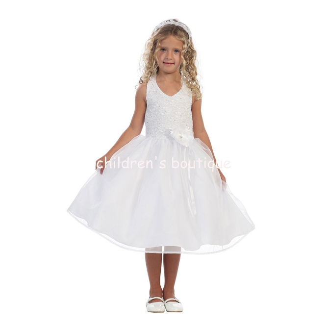 Lace First Communion Dress