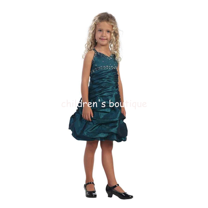 Taffeta Girls Party Dress