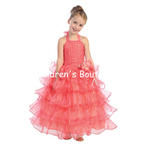 Halter Girls Pageant Dress