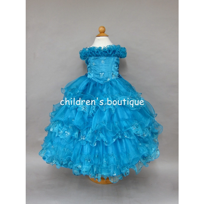 Taffeta Pageant Gown