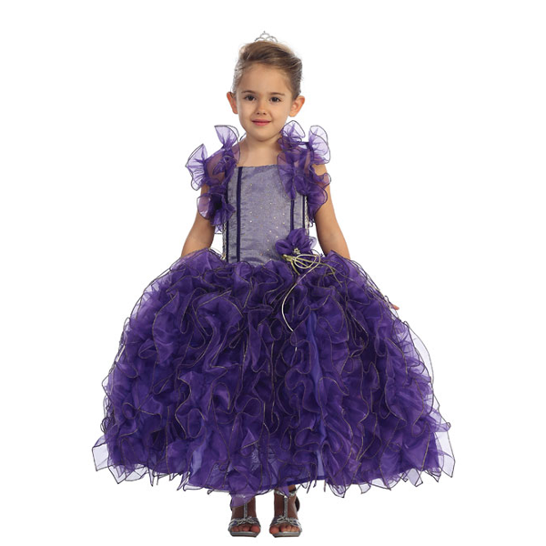 Frilly Pageant Gown