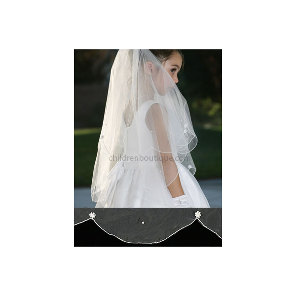Scalloped Communion Veil