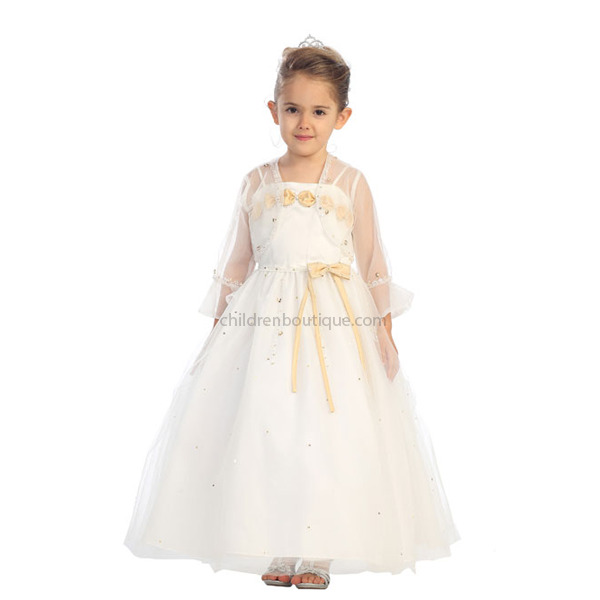 Tulle Pageant Gown