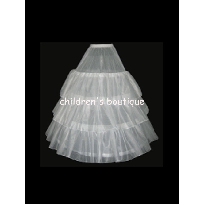 Petticoat with Hoop Skirt